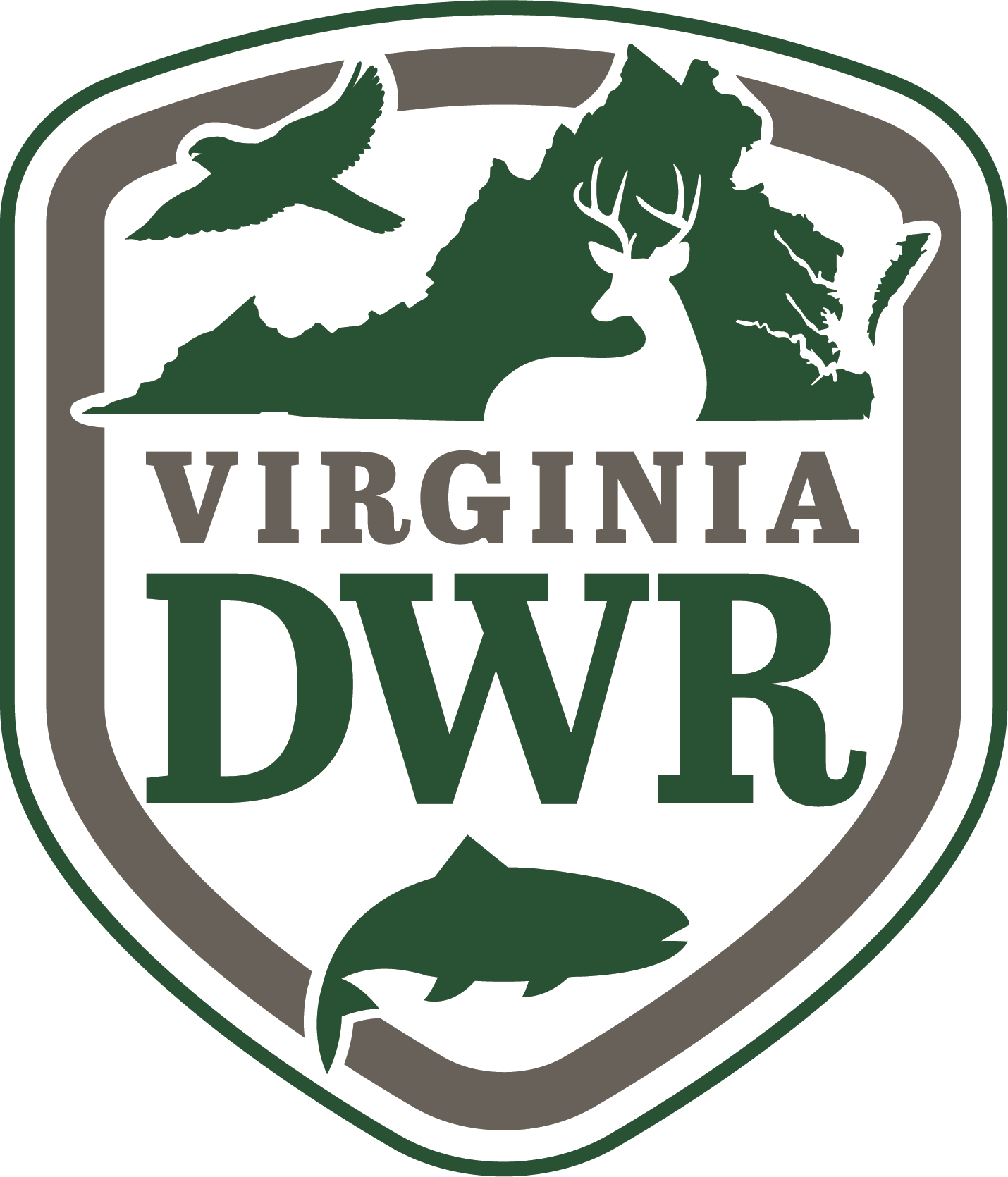 Virginia department of game and inland fisheries for Virginia game and fish